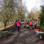 St Henrys Work Party 4th March 2017